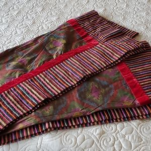 VTG NWT ETRO Home Southwest Silk Throw